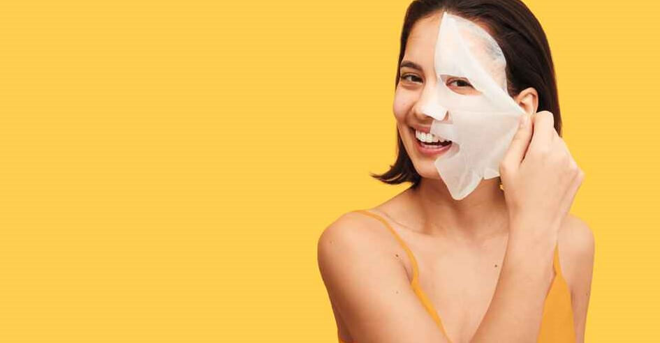 A Sheet Mask Being Used as the Ideal Microneedling Aftercare Product